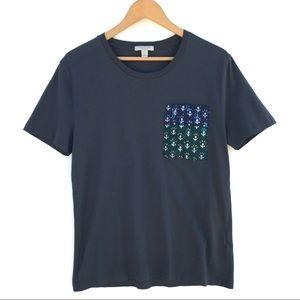 BURBERRY BRIT Crew Neck T-Shirt